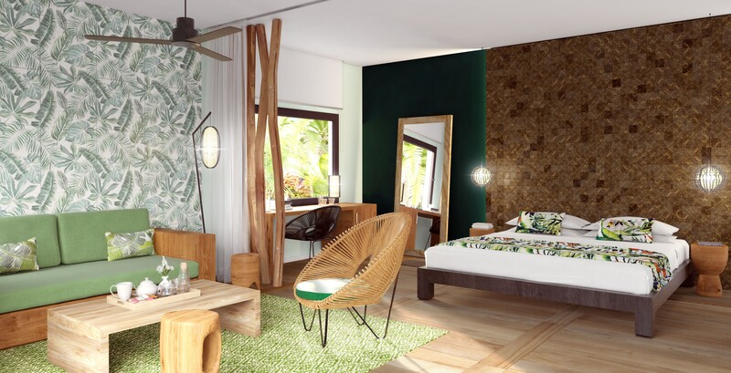 Emerald Jungle Deluxe Room